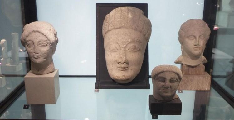 Objecten uit de Lycklama collectie (Musée de la Castre, Cannes)