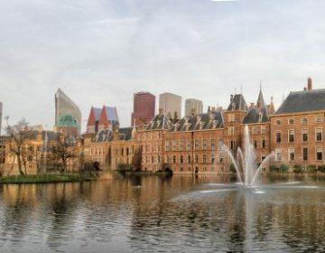 Panorama van het Binnenhof - cc