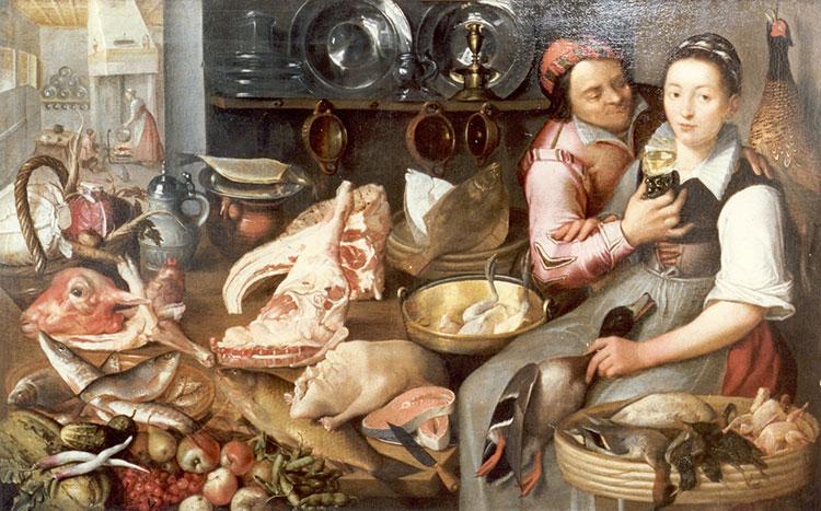 Keukenstuk van Floris van Schooten (WFM)