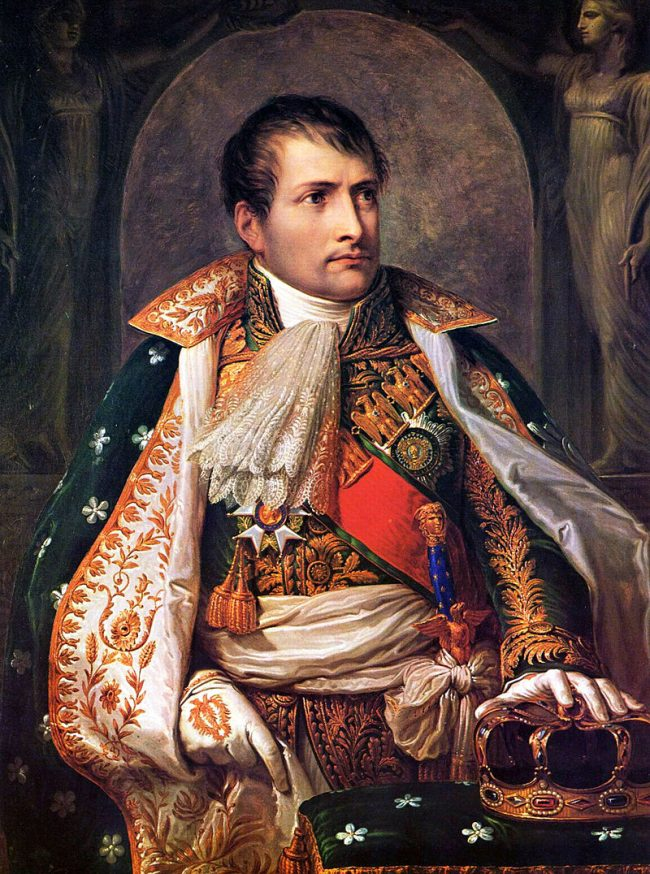Napoleon als koning van Italië door Andrea Appiani