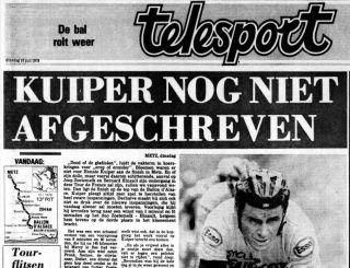Krantenartikel 10 juli 1979. Bron: Delpher