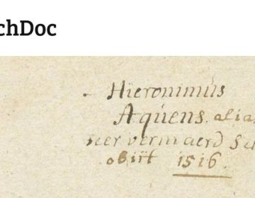 Alles over Jheronimus Bosch in één database