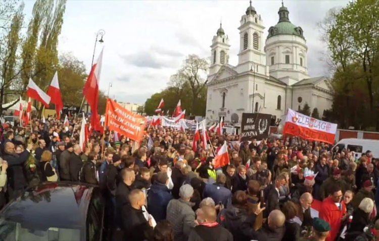 Herbegrafenis voor Poolse vrijheidsstrijder