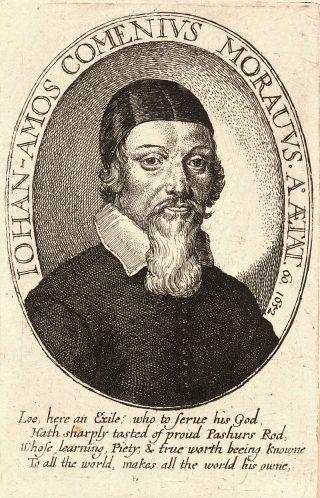 Comenius door Wenceslas Hollar