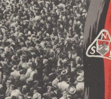 Detail van een NSB-poster (Geheugen van Nederland)