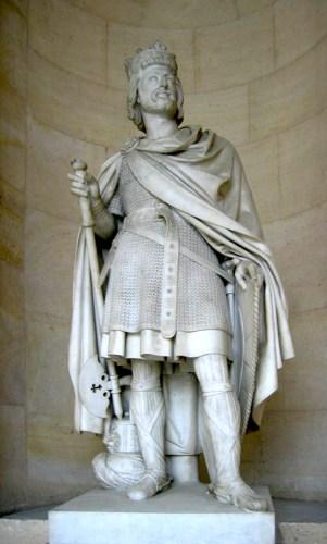Beeld van Karel Martel in Versailles (Jean-Baptiste Joseph Debay)
