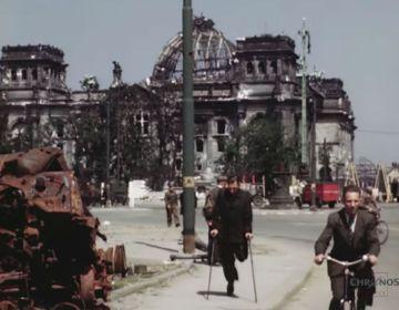 Beelden van een verwoeste stad Berlijn - juli 1945