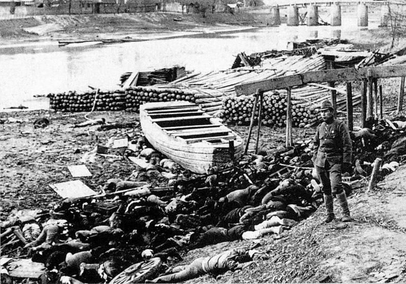 Slachtoffers van het bloedbad van Nanking