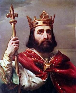 Pepijn de Korte, de eerste koning der Franken uit het Karolingische huis