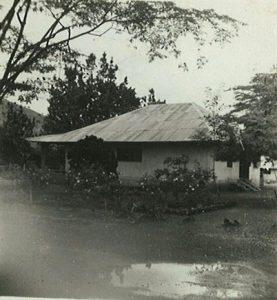 Het plantershuis Kameroen 1952