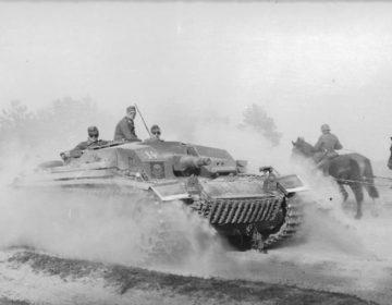 Operatie Barbarossa - Duitse tank - cc
