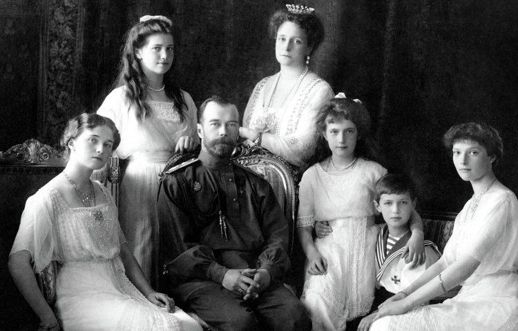 De laatste Tsarenfamilie in 1911
