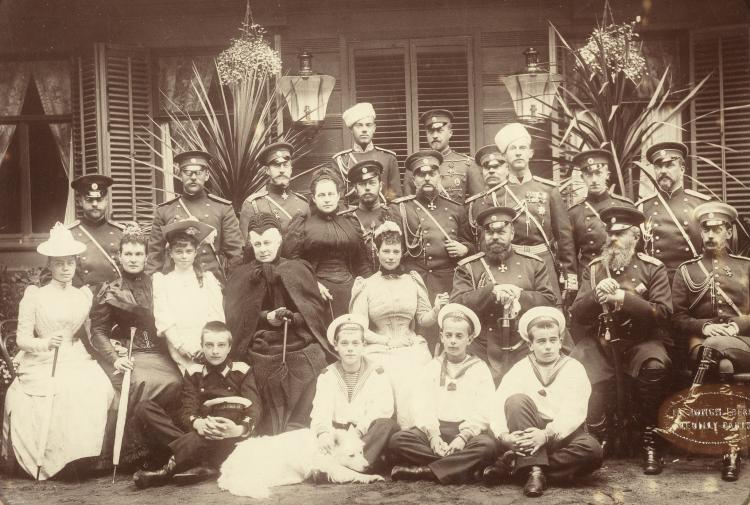 De Romanovs in 1892