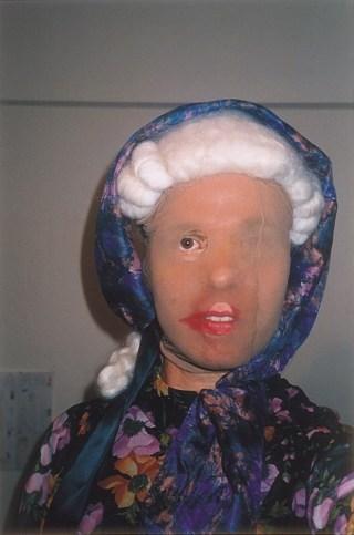 Wolfgang Tillmans, Deranged granny (self), 1995, 214 x 143 x 6 cm