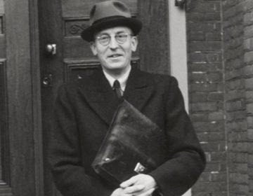 Carel Piek, NSB'er en directeur van 'Winterhulp Nederland' (cc - Nationaal Archief)