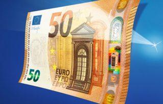 Het nieuwe biljet van 50 euro (ECB)