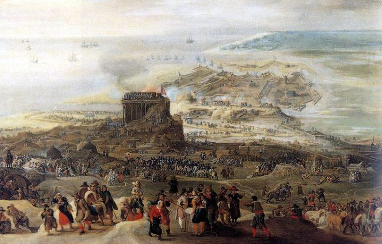 Beleg van Oostende (Pieter Snayers)