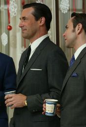 De Anthora-beker in Mad Men