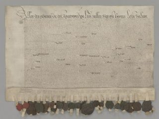 De officiële ratificatie van de pacificatie van Gent