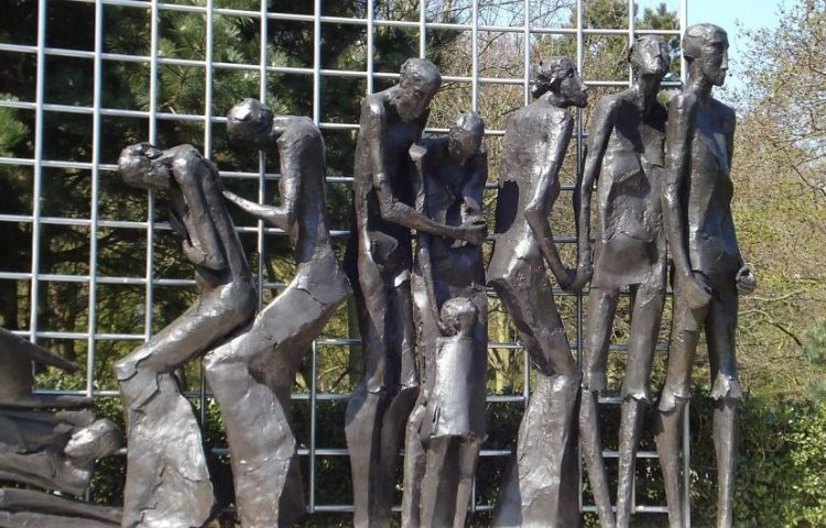 Detail van het Indisch Monument - cc