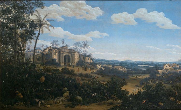Gezicht op Olinda in Brazilië, 1662 - Frans Post (Rijksmuseum Amsterdam)