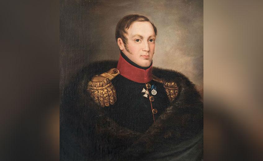 Portret van tsaar Nicolaas I - Eduard Caspar Hauser (DFfotografie.nl)