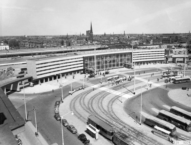 Rotterdam CS, ca. 1957