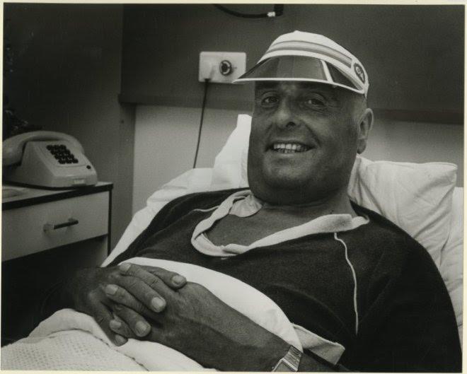 Thuring werd zelf nieuws toen hij na een verkeersongeluk in het ziekenhuis belandde. (Haagse Beeldbank)