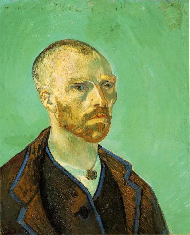 Zelfportret, opgedragen aan Gauguin, 1888