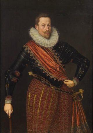 Mattias II. Door Lucas van Valkenborch. Bron: Wikimedia (Eng.)