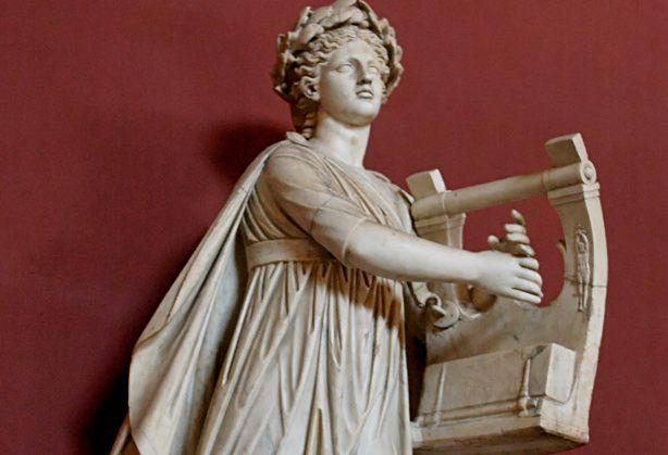 Apollo Kitharoidos; Apollo met kithara. (wiki)