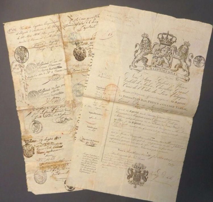 Het paspoort van Dove Willem