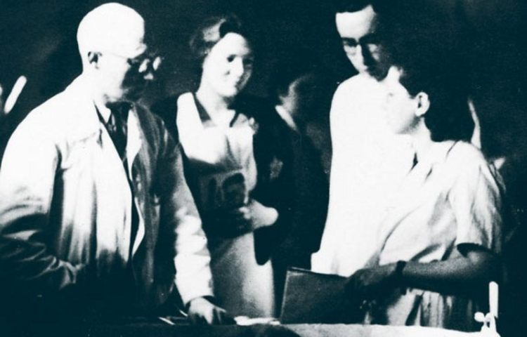 Still uit de Westerborkfilm