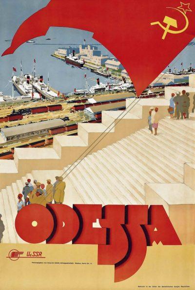 Affiche Odessa, anoniem, ca. 1930