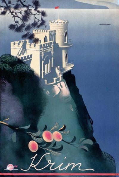 Affiche Krim, Sergey Sakharov, 1935