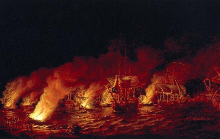 Brandende schepen - cc