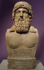 Buste van Plato