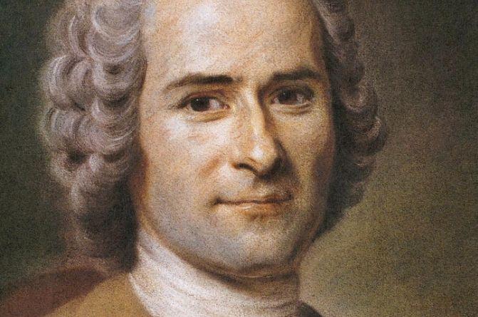 Jean-Jacques Rousseau (pastel van Maurice Quentin de La Tour)