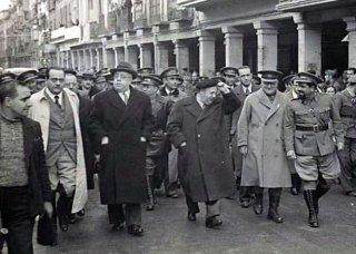 Negrín, Azana & Prieto, 1937