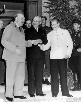 Potsdam conferentie in 1945