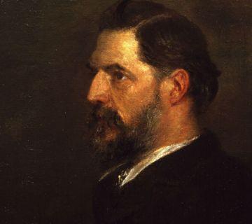 William Flinders Petrie, schilderij van George Frederic Watts