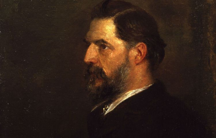 William Flinders Petrie, schilderij van George Frederic Watts