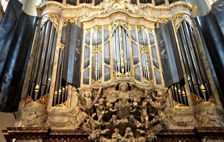 Hoofdorgel van De Nieuwe Kerk Amsterdam - cc