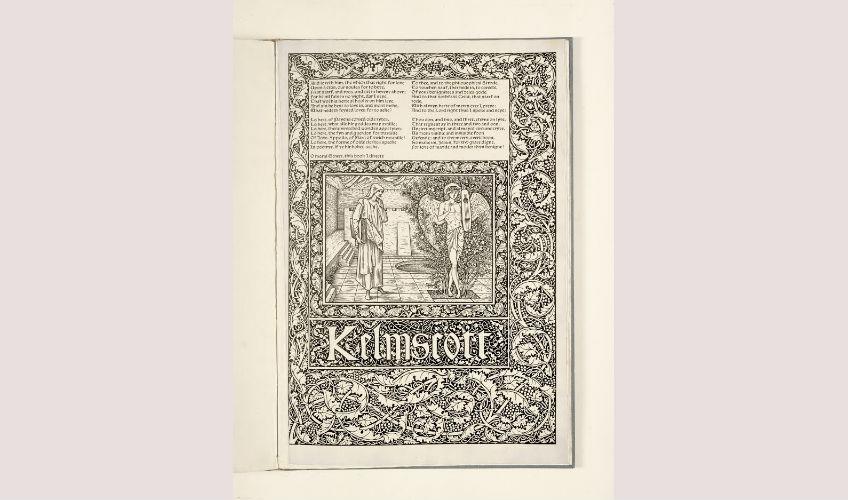 De 'Kelmscott Chaucer' van William Morris