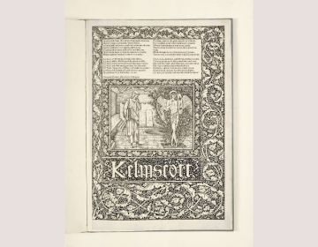 De 'Kelmscott Chaucer' van William Morris