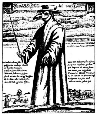 Snaveldokter uit Rome, 1656