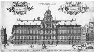 Stadhuis van Antwerpen, Cornelis de Hooghe, 1565