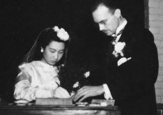 Van Gulik treedt in het huwelijk met Shui Shifang - cc