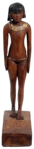 Beeldje van een meisje Nefertemaoe, gemaakt na haar overlijden in opdracht van haar moeder Nebethetep, waarschijnlijk uit Thebe (Museo Egizio, Turijn)