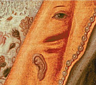 Koningin Elizabeth i, Het regenboogportret (detail)